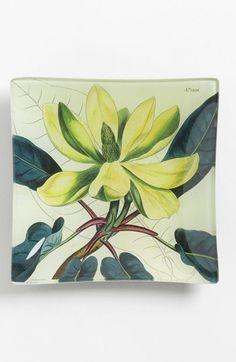 Bens Garden Yellow Magnolia Trinket Tray | Nordstrom