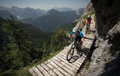 Nassfeldpass: From Austria to Italy via the Malurch Trail  Votec bikes #mountainbiking #mtb #austria