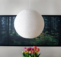 DIY Crocheted Nordic Light PendantFrom Pickles