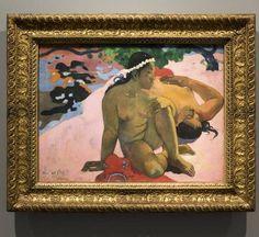 Qué estas celosa? de #Gauguin que Stalin quisó quemar / Are you jealous? by Gauguin artwork that #Stalin wanted to burn #artsgain #Paris