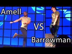 Arrow's Amell vs Barrowman Prank w/ Jazz Kick Oliver & Malcolm Merlyn meeting Phoenix Comicon - YouTube