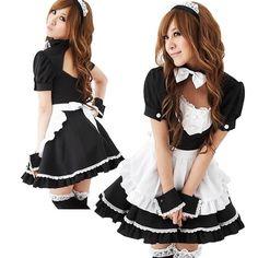 Sexy French Maid Costume Sweet Gothic Lolita Dress Anime Cosplay Sissy Maid Uniform Halloween Costumes For Women #Sissy maids http://www.ku-ki-shop.com/shop/sissy-maids/sexy-french-maid-costume-sweet-gothic-lolita-dress-anime-cosplay-sissy-maid-uniform-halloween-costumes-for-women-3/