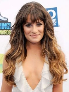 Glee's Lea Michele's hot hair trend: Ombre hair | Moviepilot: New Stories for Upcoming Movies