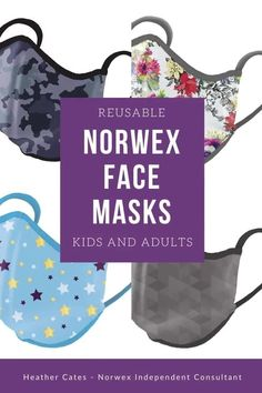 Norwex Reusable Face Masks are proven to filter out 81% of 0.1 micron-sized particles. More comfortable and breathable than disposable masks, you can use them over and over, just wash in between uses. Direct Sales Tips, Chemical Free Cleaning, Yoga Tips, Mask For Kids, Sassy, Face Masks, Filter, Articles, Wellness