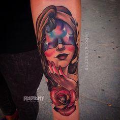 Tattoo de ayer!!! hecho con @radiantcolorsink #radiantcolors e #ipowertattoo. #deboracherrys #lamujerbarbudatattoo #tattoo #tattoos #the_inkmasters #tattoocollectors #tattooistartmagazine #thebesttattooartists #thebestspaintattooartists #neotrad #neotradi #ntgallery #neotradink #neotradpic #neotradsub #neotradtattoo #RADIANTCOLORSINK #radiantcolorscrew #saniderm