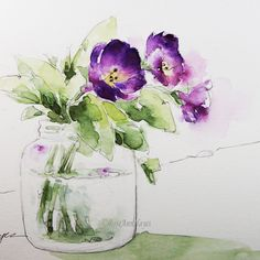 Watercolor Paintings by RoseAnn Hayes by RoseAnnHayes on Etsy