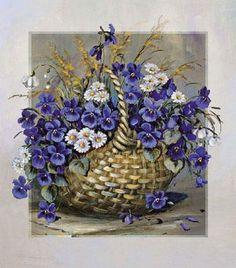 Gallery.ru / Фото #53 - Цветы и букеты 101 (фиалки, анютины глазки) - shennon