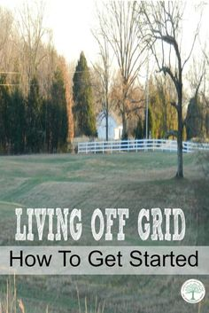 Ideas, tips and suggestions for How To Get Started Living Off Grid. One family's story of how they started and what they learned. The Homesteading Hippy via @homesteadhippy