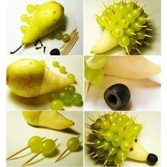 Fruit Decoration Ideas Edible Arrangements Vegetable Carving 21 New Ideas L'art Du Fruit, Deco Fruit, Fruit Food, Fruit Plate, Veggie Food, Food Crafts, Diy Food, Diy Crafts, Cute Food