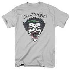 Description This Retro Joker T Shirt features the Joker from the Adam West Batman series. Go all the way back to the beginning with this vintage Joker shirt! Joker T Shirt, S Man, Direct To Garment Printer, Tank Top Shirt, Shirt Style, Long Sleeve Shirts, T Shirts For Women, Retro, Sleeves