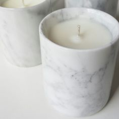 CANDLELIT & CO Tuscan Marble Candle