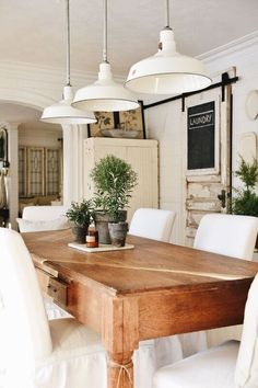 Awesome 32 The Best Dinning Room Ideas With Natural Farmhouse Style