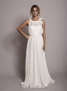 30 wunderschöne griechische Gardinen Brautkleider