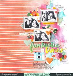 Sharing this striking layout by @missywhidden featuring the 2018 February Kits. We@love how she used the coral striped paper from @pinkfreshstudio with several Distress Oxide Inks to create her gorgeous background. . #hipkits #hipkitclub #hipkit #february2018hipkit @pinkfreshstudio #beyou #letyourheartdecide @pinkpaislee @paigetaylorevans #pickmeup @americancrafts @amytangerine #sunshineandgoodtimes #scrapbooking #scrapbookkitclub #mixedmedia