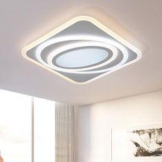 Dimming Modern Led Chandelier lights Remote control Ceiling chandelier lamp fixtures