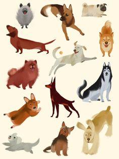Doggies! by trotroy