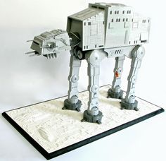 AT-AT par 2x4 - Come visit us at www.hothbricks.com, www.lordofthebric... & www.brickheroes.com for up to date news about LEGO stuff