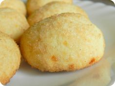 Сахарное печенье с корицей
