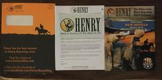 Free HENRY Rifles Sticker #freestuff #freebies #samples #free