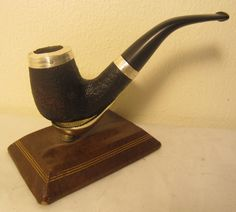 Peterson Pipe Of The Year Limited Edition 2004 Silver Sandblast Estate Briar