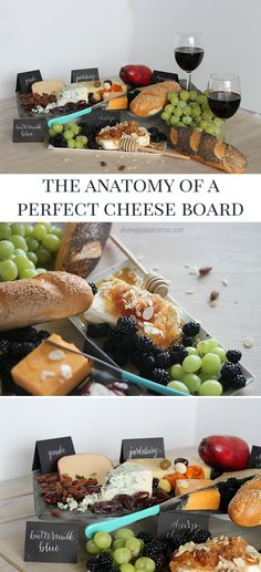 The Anatomy of a Perfect Cheese Board - DIY Cheese Platter Ideas for Your Next Dinner Party