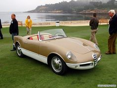 Alfa-Romeo Giulietta Sprint Spider Prototipo 004 (Bertone) (1955)