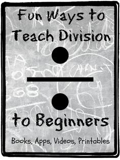 Fun ideas for teaching children division