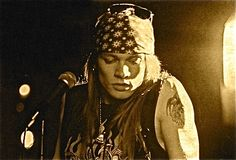 Axl Rose~ He's a douchebag but I love his vocals.