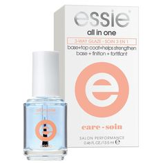 Essie Three Way Glaze 6023, Nail Strengthener - Essie, Sleek Nail