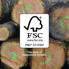 Read up why we work with FSC UK to insure sustainability.
