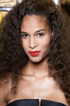 Wavy Hairstyle Idea: Embrace Texture  Define what you were born with using a moisture styling cream.
