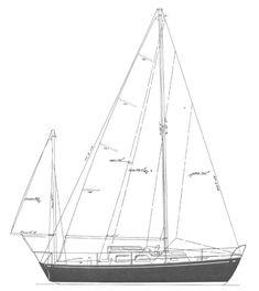 TARTAN 27 YAWL   Hull Type:Keel/Cbrd.Rig Type:Masthead Yawl LOA:27.00' / 8.23mLWL:21.42' / 6.53m Beam:8.58' / 2.62mListed SA:393 ft2 / 36.51 m2 Draft (max.)6.33' / 1.93mDraft (min.)3.17' / 0.97m Disp.7400 lbs./ 3357 kgs.Ballast:2400 lbs. / 1089 kgs. SA/Disp.:16.61Bal./Disp.:32.44%Disp./Len.:336.14 Designer:Sparkman & Stephens Builder:Tartan Marine (USA) Construct.:FGBal. type: First Built:1961Last Built:1980# Built: