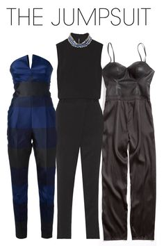 If comfort is your aim, the jumpsuit is a breezy alternative to pants that packs a major fashion statement. And if you're really in a time crunch, choose a style with a jeweled collar—slip on, and you have an insta-outfit, no jewelry necessary.   - ELLE.com