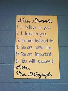 Seen this and just had to post if for all my friends who are or will soon be teachers. @Amanda Wilburn