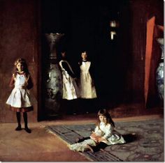 """Sargent, """"The Daughters of Edward Darley Boit"""" 1882"""