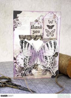 Flowers, Butterflies and Sentiments... Inspiration for Using Clear Stamps