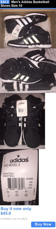 Basketball: Mens Adidas Basketball Shoes Size 10 BUY IT NOW ONLY: $45.0