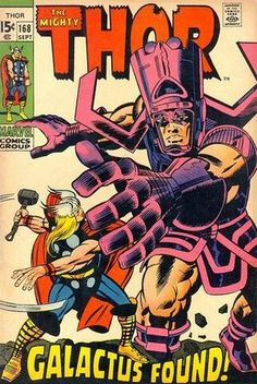 Mighty Thor # 168 by Jack Kirby & Joe Sinnott Marvel Comics Superheroes, Bd Comics, Marvel Comic Books, Comic Book Heroes, Comic Books Art, Comic Art, Thor Marvel, Marvel Room, Loki Avengers