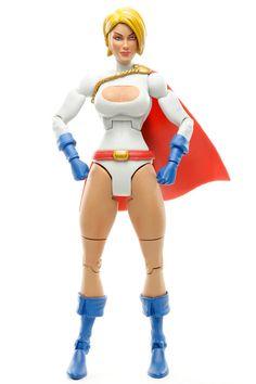"""DC Universe Classics POWER GIRL 6"""" Action Figure Wave 10 DCUC Mattel 2009 #Mattel"""