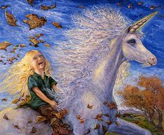 Ride The Dream by Josephine Wall