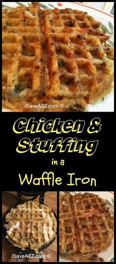 Pot Chicken and Stuffing Recipe We heated up some Chicken and Stuffing in a waffle iron and it came out amazing!We heated up some Chicken and Stuffing in a waffle iron and it came out amazing! Easy Crockpot Chicken, Crockpot Recipes, Cooking Recipes, Ip Chicken, Freezer Recipes, Freezer Cooking, Drink Recipes, Cooking Tips, Chicken Recipes