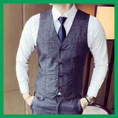 Cheap suit armani, Buy Quality suit towel directly from China suit pins Suppliers: Mens Suit Vest Men Colete Male British Wedding Slim Fit Men Dress Blazer Vests Single Breasted Casual Waistcoat Party Gilet Buy Mens Suits, Dress Suits For Men, Mens Suit Vest, Blazer Vest, Men Dress, Dress Vest, English Clothes, Blazers, British Wedding