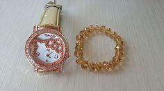 65ed4bfba Hello Kitty Wristwatches | eBay. Swarovski BraceletGold BandsBracelet  SetHello ...