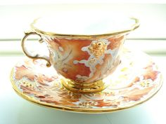 Meissen Porcelain Cup Saucer