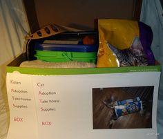 CATS Box (Cat Adoption Take home Supplies)