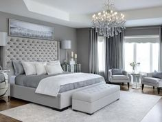 60 modern and simple bedroom design ideas 83 Home Design Ideas Glam Master Bedroom, Master Bedroom Design, Home Decor Bedroom, Master Suite, Bedroom Furniture, Girls Bedroom, Luxury Bedroom Design, Bedroom Colors, Bedroom Designs