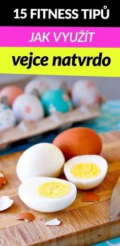 Po Velikonocích si spousta lidí láme hlavu nad tím, co udělat s vařenými vejci natvrdo, obzvlášť když jich máte plný košík. :-) Někdo si je vykoledoval, někdo je měl jen na výzdobu. Jak dlouho ale vařená vejce vydrží a na co je použít? Přináším vám 15 tipů na zdravé fitness recepty s vejci natvrdo, která jsou cenný materiál pro hubnutí i budování svalů, a byla by škoda je vyhodit. Zero Carb Diet, No Carb Diets, Healthy Diet Plans, Healthy Eating, Egg And Grapefruit Diet, Boiled Egg Diet Plan, Low Carb Recipes, Healthy Recipes, Eat Fruit