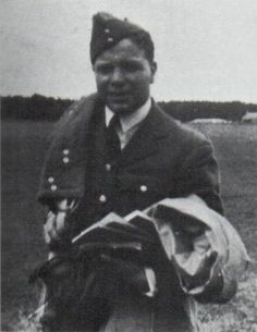 "Personal photography on RAF service installations in 1940 was prohibited, which did not prevent P/O Herbert L ""Laurie"" Whitbread (pictured) from taking secret snaps at dawn readiness at RAF Kirton-in-Lindsey of Sgt Reginald B ""Reg"" Johnson beside Spitfire Mk I ZD-P that the former 26-year-old pilot flew on most patrols over Dunkirk from RAF Hornchurch between 28 May and 3 June. The coeval pilot sergeant then returned the favour."