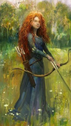 Merida ..../ This is a fine liking of Merida in her late-twenties. Maturing well, and she will make a fine Queen one day. ~bl~