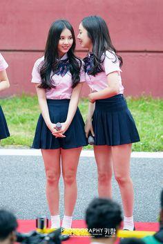 Eunha and SinB